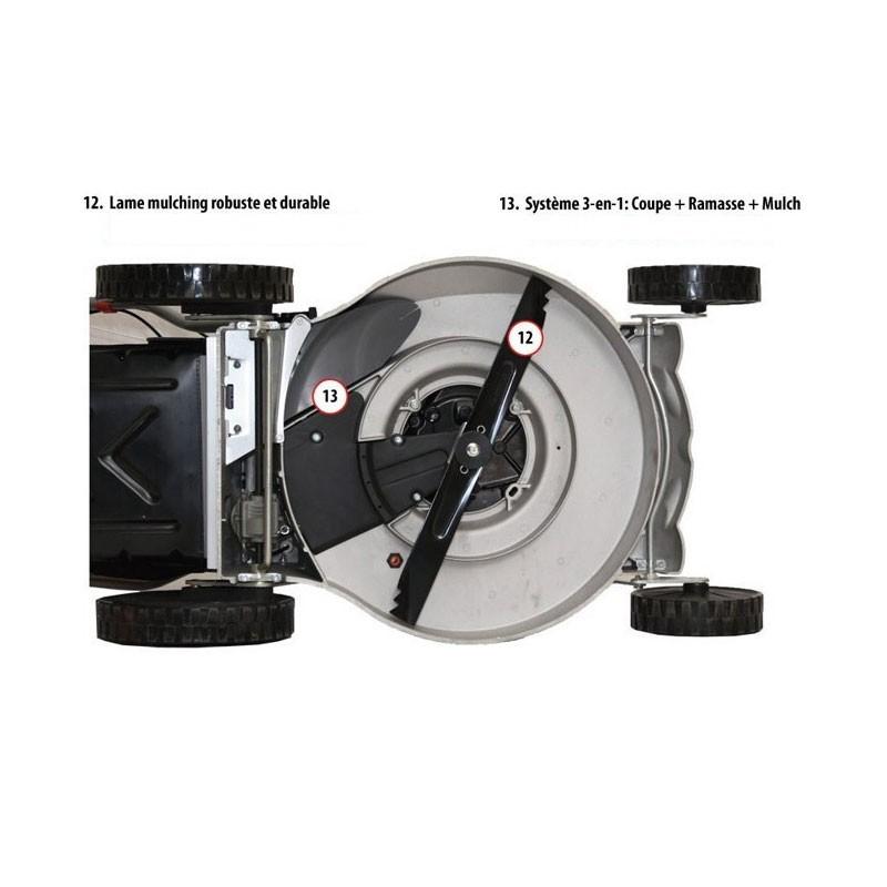 Lawnboss tondeuse autotract e moteur b s 55 cm aluminium soldes 2014 - Tondeuse honda autotractee ...
