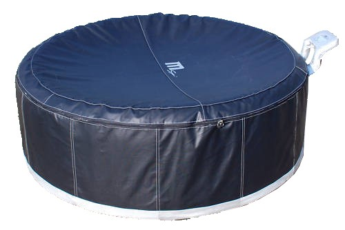 camaro b 130 noir spa gonflable 4 personnes loisirs bubble spa jacuzzi. Black Bedroom Furniture Sets. Home Design Ideas