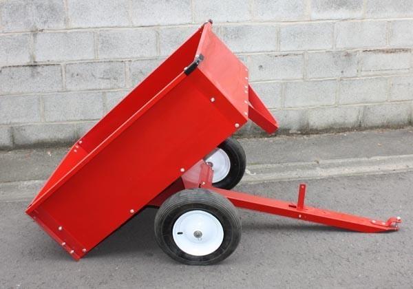 Lawnboss 2040d remorque acier peint pour tracteurs - Attelage remorque pour tondeuse autoportee ...