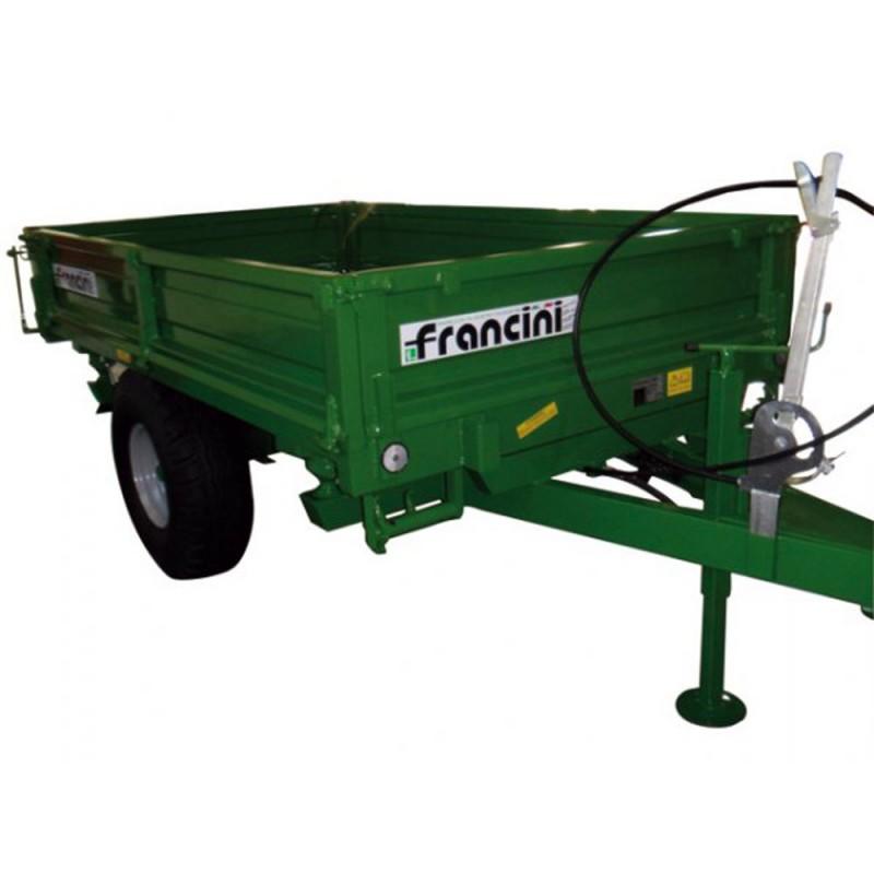 Francini F 30 Remorque Pour Tracteur Charge 2200 Kg