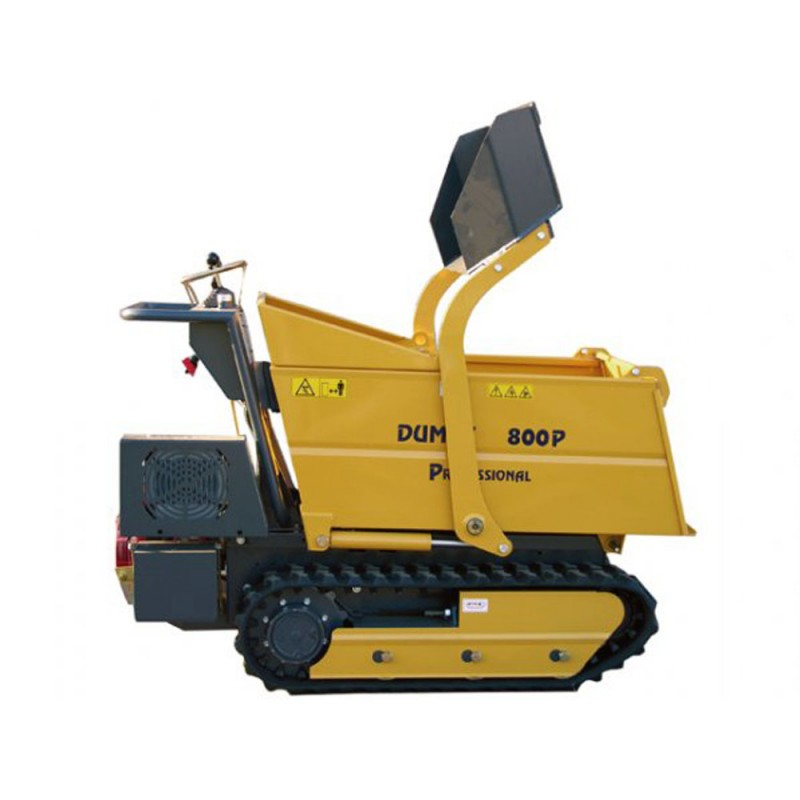 transporteur dumper sur chenilles dumpy 800p load honda. Black Bedroom Furniture Sets. Home Design Ideas