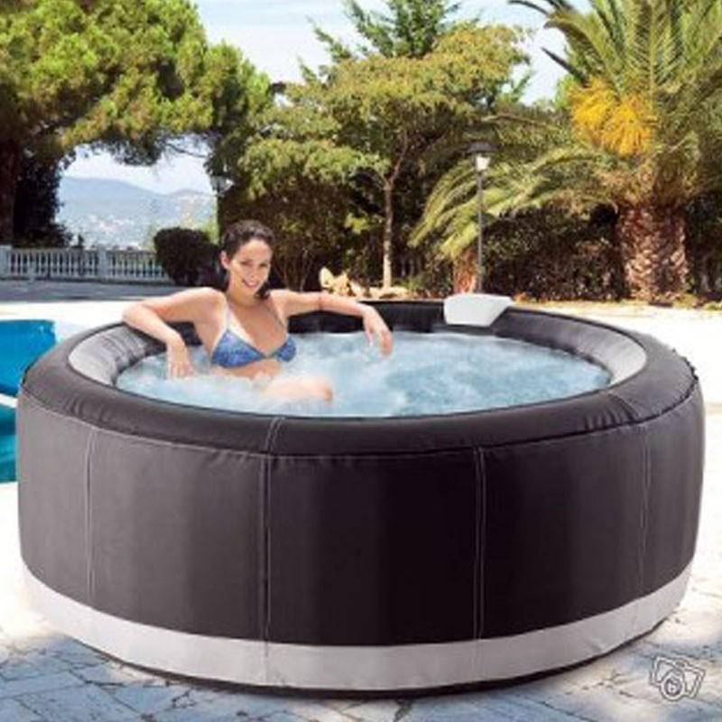 loisirs bubble spa jacuzzi ospazia succes luxe taupe spa. Black Bedroom Furniture Sets. Home Design Ideas