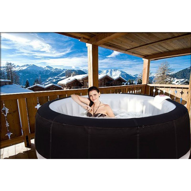 jacuzzi gonflable ext rieur spark 4 places pictures to pin. Black Bedroom Furniture Sets. Home Design Ideas