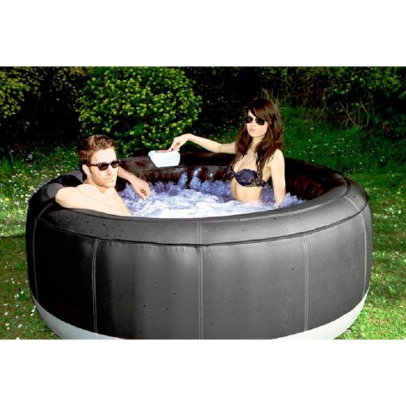 Spa jacuzzi gonflable bubble spa gonflable spa jacuzzi ext rieur jacuz - Jacuzzi gonflable 2 personnes ...