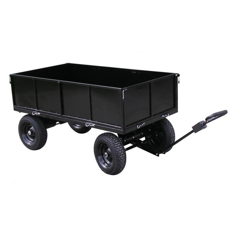 jardinage remorques remorque plateau roues en acier peint lawnboss pour tracteurs tondeuses auto. Black Bedroom Furniture Sets. Home Design Ideas