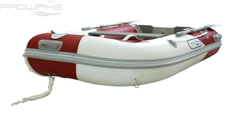 Prowake pw265 annexe bateau pneumatique gonflable rouge blanc loisirs bateaux - Annexe bateau gonflable ...