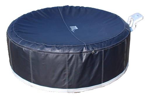 camaro b 130 noir spa gonflable 4 personnes loisirs bubble spa jacuzzi. Black Bedroom Furniture Sets. Home Design Ideas