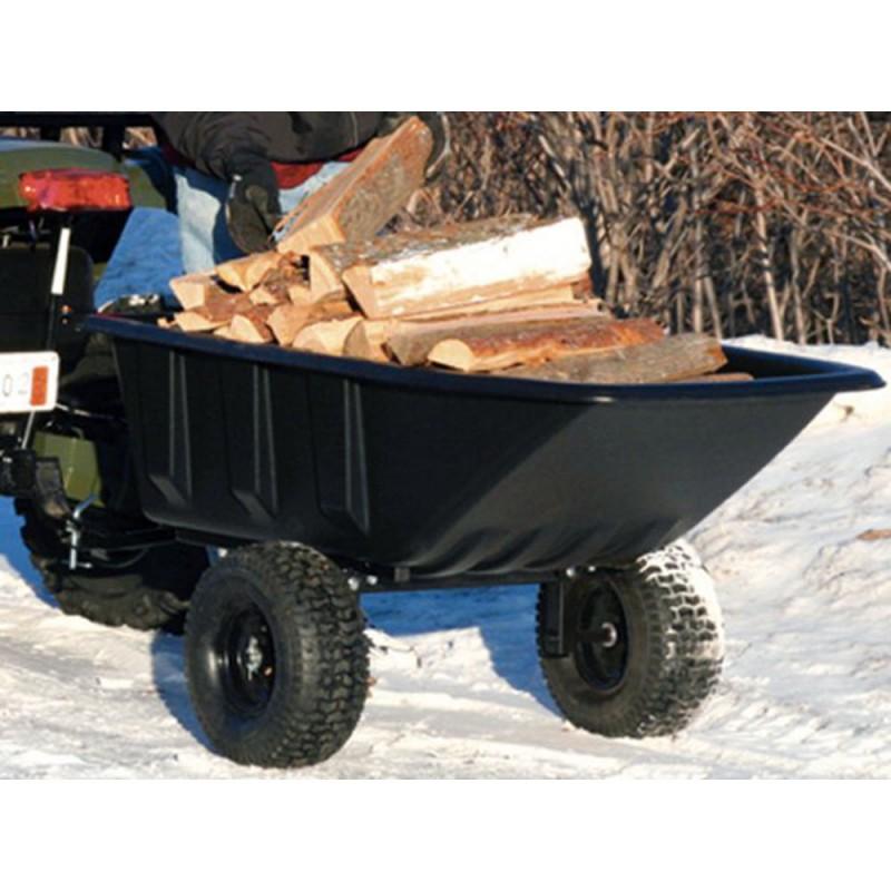 remorque polar trailer pour tracteur gazon charge 360. Black Bedroom Furniture Sets. Home Design Ideas