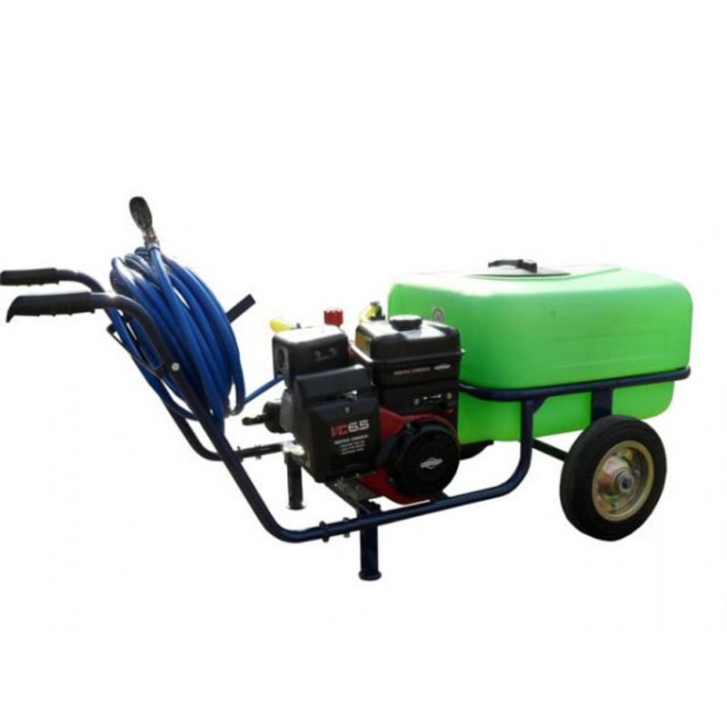 pulv risateur lectrique sur 2 roues taral 100 litres 25 bar briggs et stratton jardinage. Black Bedroom Furniture Sets. Home Design Ideas