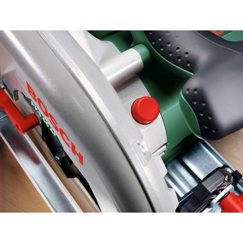 scie circulaire bosch pks 66 af force et pr cision pour coupes droites avec rail de guidage. Black Bedroom Furniture Sets. Home Design Ideas
