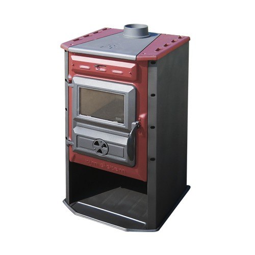 po le bois 10 kw magic stove rouge tim sistem po le chaudi re po les bois po le. Black Bedroom Furniture Sets. Home Design Ideas