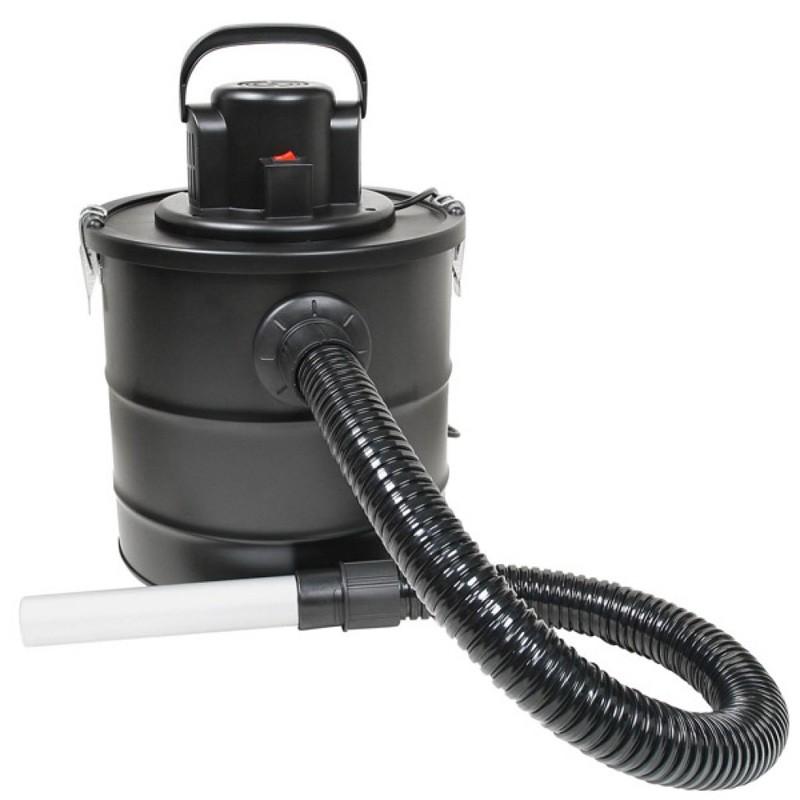aspirateur de cendres 1200w 20 litres po le chaudi re po les bois accessoires. Black Bedroom Furniture Sets. Home Design Ideas